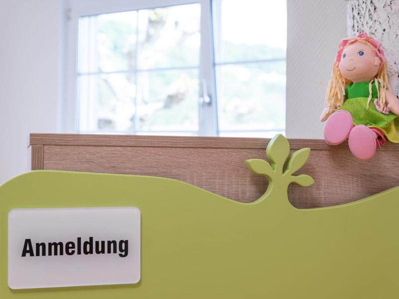 Kinderarztpraxis Waldshut-Tiengen Dr. med. Klaus Peter Ruehs Anmeldedesk